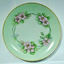 """KPM"" (Carl Krister Porcelain Manufactory) Cherry / Apple Blossom Plate 8+"" H/P"