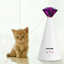 New listing Pixnor 1Pc Diamond Laser Cat Toy Adjustable Pet Laser Pointer Pet Toy for Kitten