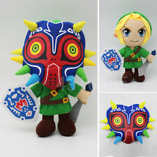Otaku Game The Legend of Zelda Link Stuff  Plush Majora Mask Doll Toys Handsome