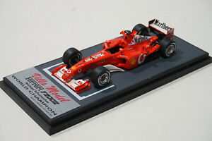 1/43 Ferrari F2002 Michael Schumacher 2002 World Champion Villa Model BBR Kit