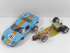 Ford GT40 Gulf auf MH-Racing Chassis - 1:24 1/24 Slotcar TOP! (F6719)