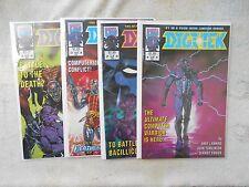 Dec. 1992 Digitek # 1/2/3/4/ Set   NM 9.4
