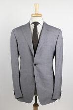 NWT. CARUSO Gray Silk Sport Coat Blazer 54/44 R $1450