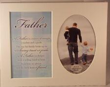 Padre Recuerdo Marco de Fotos Montaje A Tomar 15.2x10.2cm Foto 20.25cm x 25.5cm
