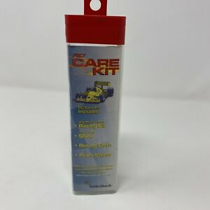 Radio Shack RC Care Kit-includes Racing Oil, Shine, Racing Cloth, Foam Swabs NIB