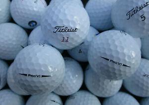 30 Titleist Pro V1/ V1X Modell 2018  Golfbälle AAAA - AAA *