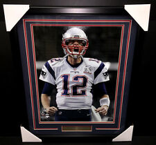 TOM BRADY SUPER BOWL LI NEW ENGLAND PATRIOTS 16X20 PHOTO FRAMED GREATEST EVER