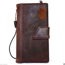 genuine vintage full leather case for iphone 5s 5c stand book wallet credit ID