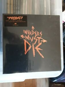 """The Prodigy CD DVD 7"""" Vinyl Invaders Must Die Deluxe Box Set Edition. Unplayed"""