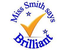 Personalised Reward stickers for Teachers Mothers Childminders Nurseries Thumbs^