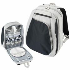 Insulated Cooler Backpack 4 Person Family Setting Picnic Accessories New