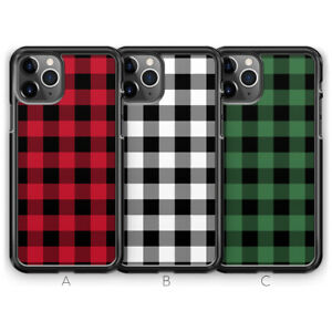 Check Plaid Checkered Phone Case for iPhone 12 Mini 11 Pro Max XR X XS Max 8 7