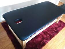 ULTRASTYLE THAI MASSAGE TABLE BLACK TOP SLAT RACK L190 H70 W80cm AUSTRALIAN MADE