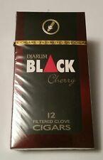 NEW 1 Sealed Pack 12 Djarum Black cHERRY Cloves US SELLER! Kretek
