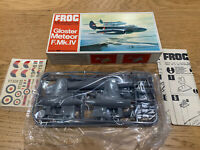 FROG 1/72 GLOSTER METEOR F.MK.IV vintage kit model Plane - contents new & sealed