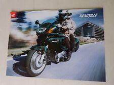 prospectus catalogue moto :  HONDA 650 deauville  de 2001