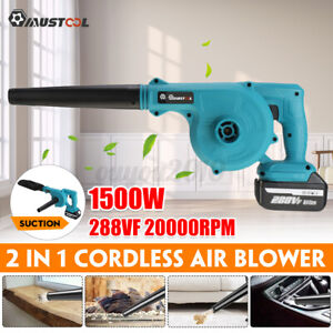 1500W Cordless Electric Air Blower Vacuum Cleanner Blower For Makita 18V Battery