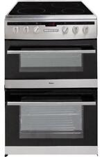 Amica 608DCE2TA (XX) Electric Cooker-Stainless Steel