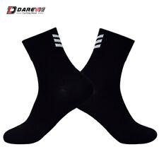 Socks Unisex Breathable Darevie Black/White Chevron 38 - 45