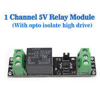 Single Channel 5V Relay Module Low With Optocoupler Isolation Panels Optocoup