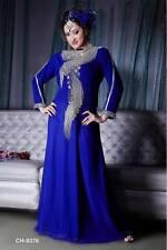 ELEGANT Moroccan Kaftan Long Maxi Dress Abaya Jilbab Islamic Kheleeji jalabiya76