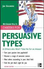 Careers for Persuasive Types & Others Who Won't Take No for an Answer (2007, Pb)