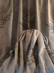 HARLEQUIN FOLIUM fabric curtains Thermal Blackout  LINEN MIX  ENORMOUS