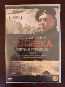 Dvd Fifth Offensive With Richard Burton Brand New Never Been Used