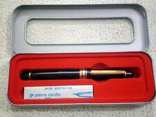 Pierre Cardin President GT Fountain Pen + 4 Blue Ink Cartridges Original Sealed