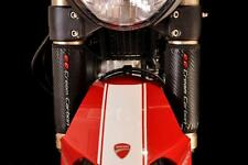 Fibre de Carbone Finition Tête en Bas Protections Fourche par Cream - Mv Agusta