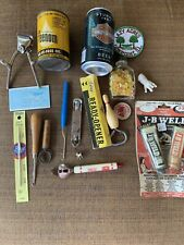 Junk drawer treasures, antiques, vintage stuff, collectibles lot