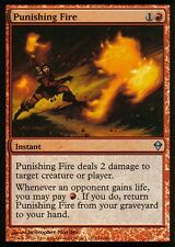 Punishing Fire foil | ex + | Zendikar | Magic mtg