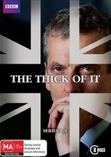 The Thick of It: Series 1 - 4 * LIKE NEW DVD * (Region 4 Australia)