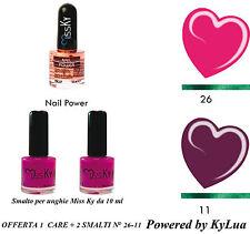 KIT SMALTI + INDURENTE NEW SUMMER COLLECTION KyLua Made in Italy Nail Polish Art