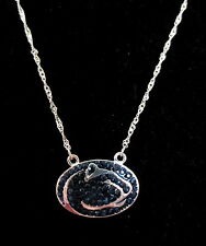 new! Penn State University Nittany Lions CRYSTAL PENDANT LOGO NECKLACE jewelry