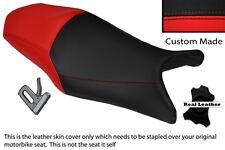 Negro Y Rojo Custom Fits Yamaha Xj6 600 F desvío Xj6n 09-13 Doble Cubierta De Asiento