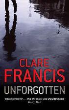 Unforgotten, Francis, Clare, New Book