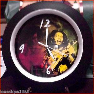 THE LEGENDARY BOB MARLEY  Collector's WALL CLOCK