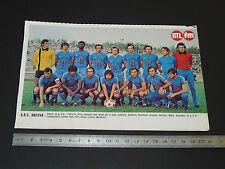 CLIPPING POSTER FOOTBALL 1976-1977 SEC BASTIA SECB FURIANI CORSICA SCB