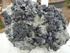 Minéraux!! Galène sur quartz Madan Bulgarie