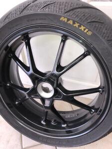 triumph speed triple rear wheel