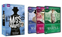MISS MARPLE The Complete Series Collection 1-3 (DVD 2015 BBC) NEW! Free Ship