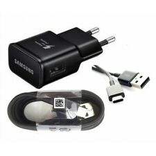 CHARGEUR Original Samsung Secteur Rapide Noir 2A + USB Type C