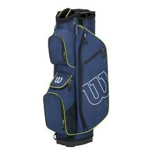 Wilson Golf Prostaff 14 Way Cart Bag (Blue/Green)