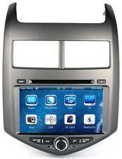 Car Stereo DVD Player GPS Navigation Radio BT CD For Chevrolet Chevy Aveo Sonic