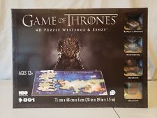 Game of Thrones Westeros & Essos 4D Puzzle FREE SHIPPING