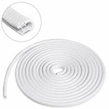 4M Rubber Edge Trim U Shape White Large Edge Protector For Cars,Boats, Machinery