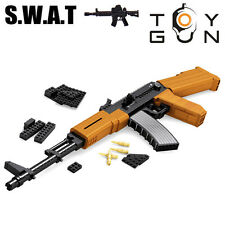 AK-47 Submachine Assault Gun Model 1:1 DIY Building Blocks Brick Toy 617pcs new)