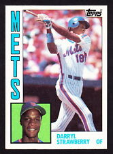1984 TOPPS #182 DARRYL STRAWBERRY METS ROOKIE