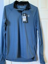 Men'S Under Armour Blue Running Top - Brand New W/Tags - Size Small